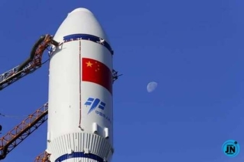 China prepares moon probe to bring back lunar rocks